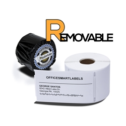 "Dymo Compatible Removable 30256 - 2-5/16"" x 4"" Shipping Labels"