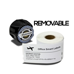 "Dymo Compatible 30323 Removable - 2-1/8"" x 4"" Shipping Labels"