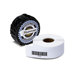 "Dymo Compatible 1738595 Barcode Labels - 3/4"" x 2-1/2"""