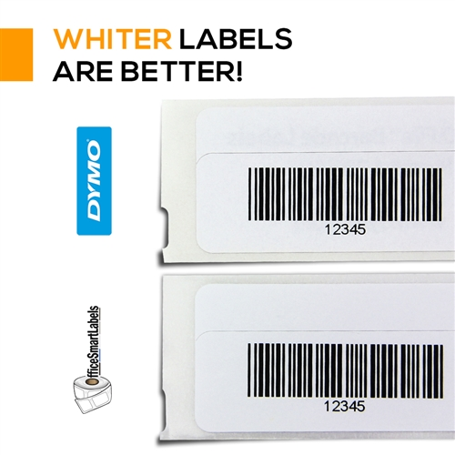 dymo compatible 1738595 barcode labels 3 4 x 2 1 2 compatible