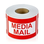 3 x 2 inch - Media Mail Stickers