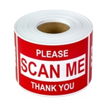 "2"" x 3"" Scan Me - Stickers"