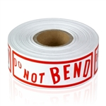 "Do Not Bend 1"" x 3"" - Stickers"