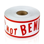 "Do Not Bend 2"" x 6"" - Stickers"