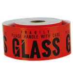 4 x 2 inch - Please Handle with Care Stickers - Glass Stickers