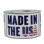 "Made In USA 3"" x 5"" - Stickers"