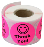 Thank You - Pink - Stickers