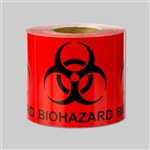 2 x 2 inch - Biohazard Stickers -  Warning Stickers