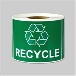 "3"" x 2"" Recycle Sticker"