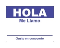 Hola Sticker - Dark Blue