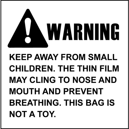 Suffocation Warning