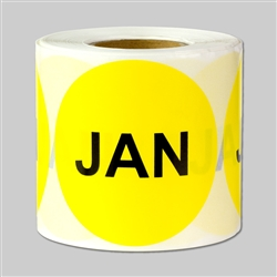 Months of the year: January Sticker 2""