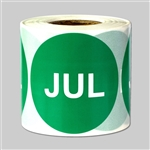 Months of the year: July  Sticker 2""