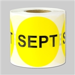 Months of the year: September Sticker 2""