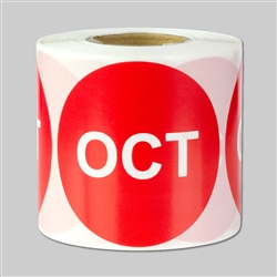 Months of the year: October Sticker 2""
