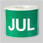 Months of the year: July  Sticker
