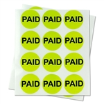 1 inch - Paid Stickers - Circle Stickers
