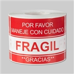 3 x 2 inch - Fragil Etiqueta - Fragile Stickers - Warning Stickers