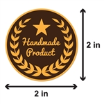 Handmade Product Sticker Labels
