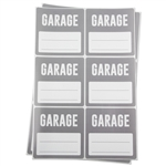 Garage Memo Moving Stickers