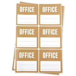 Office Memo Moving Stickers