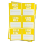 3 x 3 inch - Dining Room Stickers - Moving Stickers