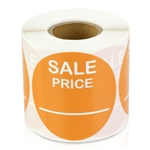 Sale Price Stickers -  Orange