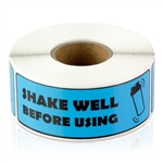 Shake Well Before Using Sticker Labels