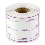 3 x 2 inch - Item Use By Date Stickers ( Red ) - Food Rotation Labels