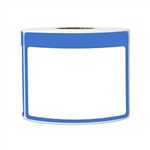"3.5"" x 2.25"" Write-In Name Tag (Blue) Stickers Labels"