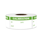 "2"" x 1""  Write-In Calibration Stickers Labels"