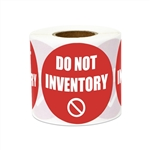 "2"" Inventory: Do Not Inventory Stickers Labels"