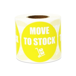"2"" Inventory: Move to Stock Stickers Labels"