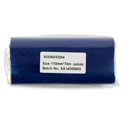 "4.33"" x 244' Wax Thermal Transfer Ribbons for Desktop Printer"