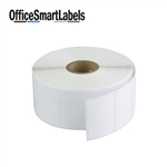 "1-1/2"" x 1"" Direct Thermal Labels ( Permanent Adhesive - 1 Inch Core )"