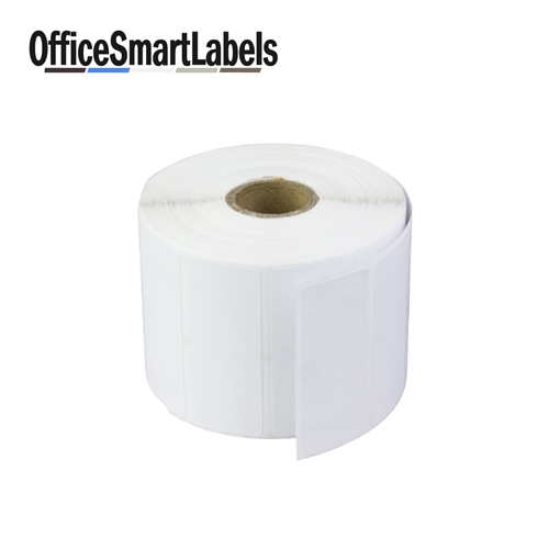 2 1 2 x 1 direct thermal labels permanent adhesive 1 inch core