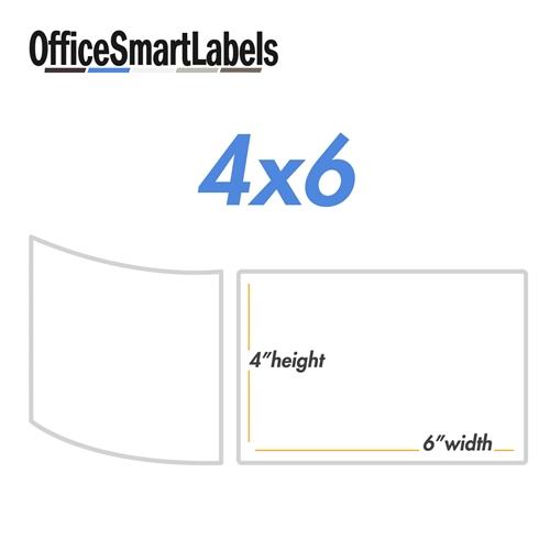 4 x 6 labels