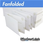 "4"" x 6"" Fanfolded Direct Thermal Labels ( Permanent Adhesive - Fanfold )"