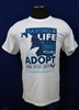 Saving a Life Will Change Yours w/Cat Unisex T-shirt