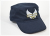 Blue Military Hat