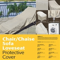 Treasure Garden Large Lounge Chair cover