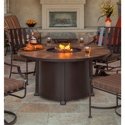 OW Lee Lee Fire Pit · Larger Photo Email A Friend - Fire Pit OW Lee 54 Round Dining Santorini 51-14A