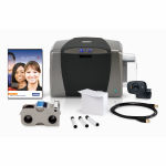 Fargo DTC1250e ID Card System Bundle with Software Graphic