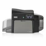 Fargo DTC4250e Single-Sided Color ID Card Printer and SmartCard Encoder Graphic