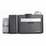 Fargo HDP6600 Dual-Sided Color ID Card Printer with Contactless Encoder Graphic