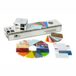 Zebra Premier Color PVC Cards - Blue Graphic