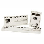 Zebra ZXP 8/ZXP 9 Transfer Roller Cleaning Cards Graphic