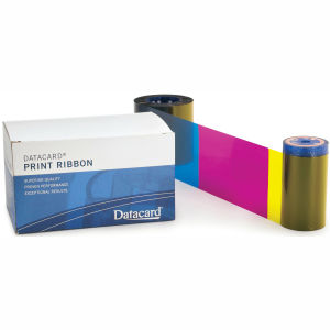 Datacard Full Color YMCKPO 6 Panel Ribbon Graphic