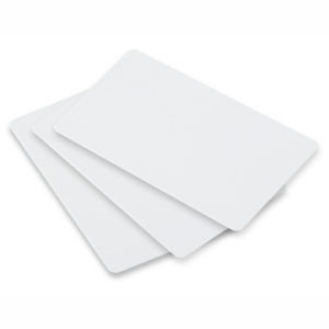CardMark Blank PVC Card, White, CR-80, 30 mil, Signature Panel, 500 Cards PER Sleeve, Wrapped in 100's, Priced PER Sleeve Graphic