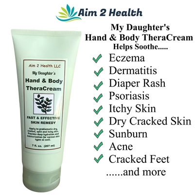 My Daughter's Hand & Body TheraCream - with 10% Urea   7oz